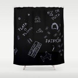 Pablo Escobar Shower Curtain