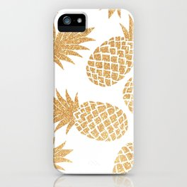 GOLD~~PINEAPPLE iPhone Case
