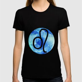 Leo. lion. Sign of the zodiac. T-shirt