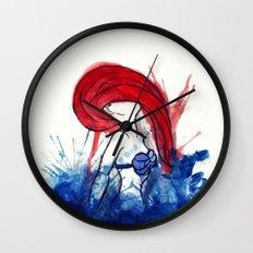 Ariel Splash Wall Clock