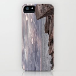 Around Sunset at Halibut Point iPhone Case