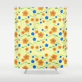 Floral-007 Shower Curtain