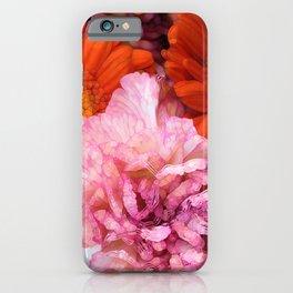 Peonies and Gerbers iPhone Case