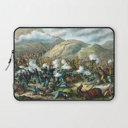 Battle Of The Big Horn Laptop Sleeve