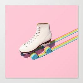 Rainbow Roll Canvas Print