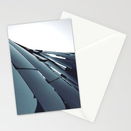LIGHT FRACTURED OBSTRUCTION Stationery Cards