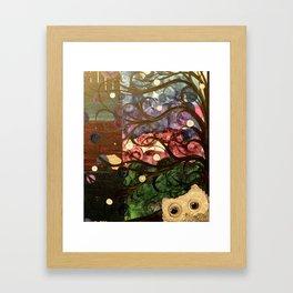 Owl Artwork By MiMi Stirn - Owl Photobomb  #369 Framed Art Print