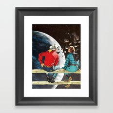 Ranch at the End of the World Framed Art Print