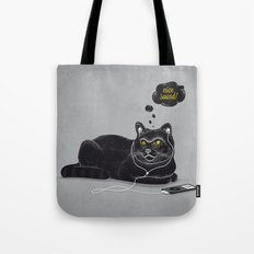 Chilling Cat Tote Bag