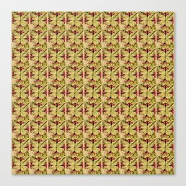 Trumpet Cross Pattern Canvas Print