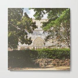 Botanical Garden - Florence Metal Print