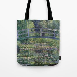 Water Lilies and the Japanese Bridge by Claude Monet Tote Bag