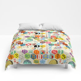 Math in color (little) Comforters