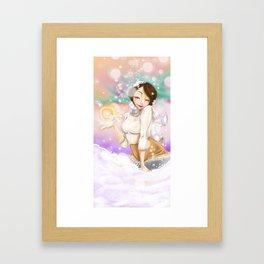 Wintery Magic  Framed Art Print
