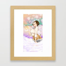 Wintery Magic  Framed Art Print