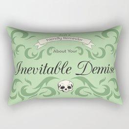 Inevitable Demise Rectangular Pillow