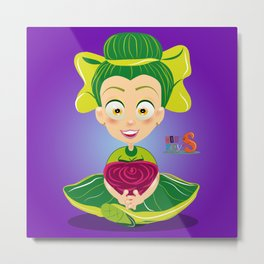 Mariette/Character & Art Toy design for fun Metal Print