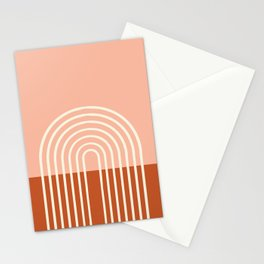 Terracota Pastel Stationery Cards