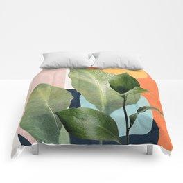 Nature Geometry VII Comforters