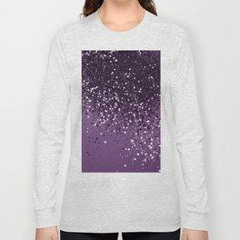PURPLE Glitter Dream #1 #shiny #decor #art #society6 Long Sleeve T-shirt