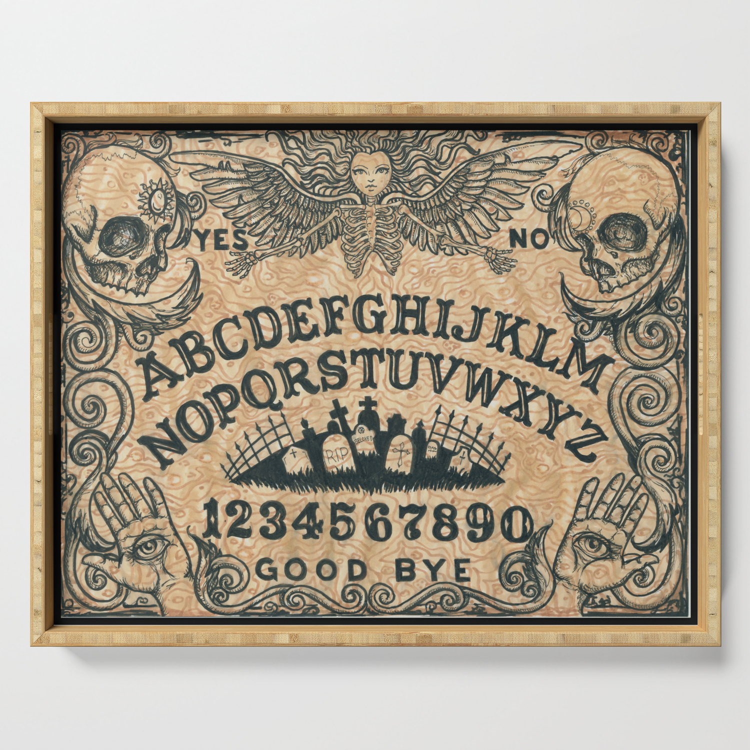 Ouija Board Serving Tray By Shayneofthedead Society6