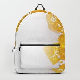 Golden Gaming Dice Backpack