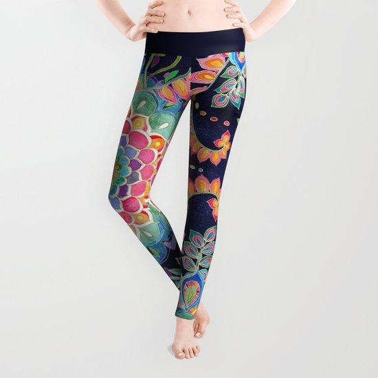 Color Celebration Mandala Leggings