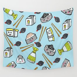 Sushi Time for Shishi Wall Tapestry