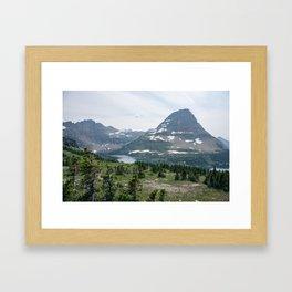 Hidden Lake Framed Art Print