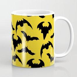 Yellow & Black Bats Coffee Mug