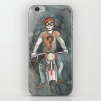 moto iPhone & iPod Skins featuring Moto by Bluedogrose