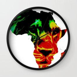 Lion Heart Africa Wall Clock