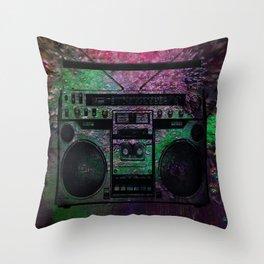 Hot! Boom box Throw Pillow