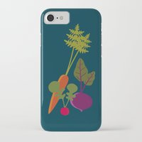 vegetable iPhone & iPod Cases featuring Vegetable Medley by Veronica Galbraith