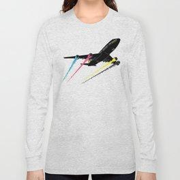 Ink Jet Long Sleeve T-shirt
