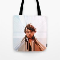 luke hemmings Tote Bags featuring Luke by Tom Johnson