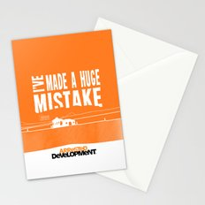 I've Made a HUGE Mistake... Arrested Development Stationery Cards