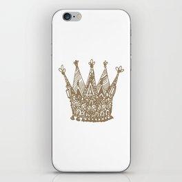 Royal Crown iPhone Skin