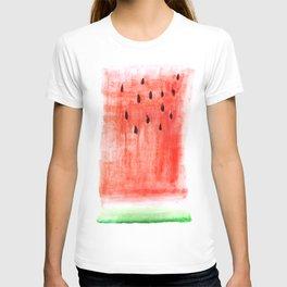 watermelon / watercolor T-shirt