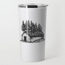 Shack & Trees Travel Mug