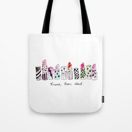 Knock them dead Tote Bag
