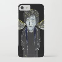 vonnegut iPhone & iPod Cases featuring Kurt Vonnegut Jr Oil Painting by Tony King  by Tony King - Beautifully Mad