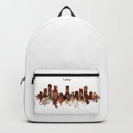 Denver Skyline Silhouette Backpack