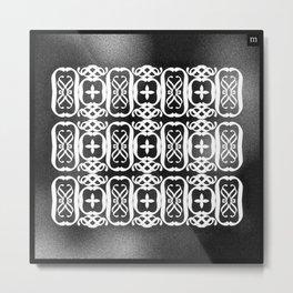composition abstraite n°3 - mathéo Metal Print