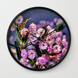 Kalmia polifolia Wall Clock