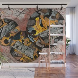 Basalt Mineral Microscope Wall Mural