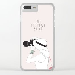 The Perfect Shot Clear iPhone Case