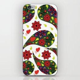 Paisley pattern #4S iPhone Skin