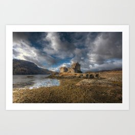 Eilean Donan Castle in Highlands of Scotland Art Print