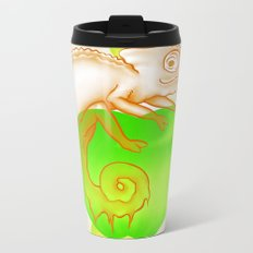 Caramel Chameleon Metal Travel Mug